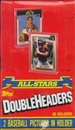 1990 Topps All-Star Doubleheader Baseball Hobby Box