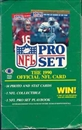 1990 Pro Set Series 1 Football Wax Box