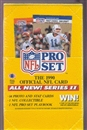 1990 Pro Set Series 2 Football Wax Box