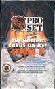 1990/91 Pro Set Series 2 Hockey Wax Box