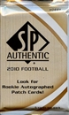 2010 Upper Deck SP Authentic Football Hobby Pack