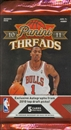 2010/11 Panini Threads Basketball Hobby Pack