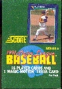 1991 Score Series 1 Baseball Wax Box