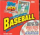 1991 Topps Baseball Cello Box