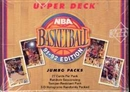 1991/92 Upper Deck Low # Basketball Jumbo Box