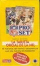1991 Pro Set Football Wax Box (Spanish Edition)