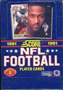 1991 Score Series 2 Football Wax Box