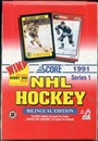 1991/92 Score Canadian Bilingual Series 1 Hockey Hobby Box