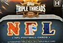 2010 Topps Triple Threads Football Hobby Mini Box