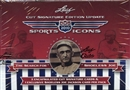 2010 Leaf Sports Icons Cut Signature Edition Update Hobby Box