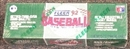 1992 Fleer Baseball Factory Set