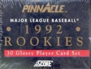 1992 Pinnacle Rookies Baseball Factory Set