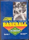 1992 Score Series 1 Baseball Wax Box
