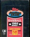 1992 Topps Stadium Club Series 1 Baseball Hobby Box