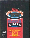 1992 Topps Stadium Club Series 3 Baseball Wax Box