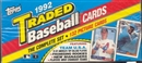 1992 Topps Traded & Rookies Baseball Retail Set