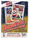 1992 Bowman Baseball Hobby Wax Box