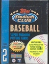 1993 Topps Stadium Club Series 2 Baseball Hobby Box