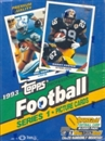 1993 Topps Series 1 Football Hobby Box