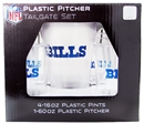 NFL / Buffalo Bills PLASTIC PITCHER SET (Boelter)