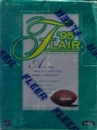 1995 Fleer Flair Football Hobby Box