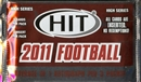 2011 Sage Hit High Series Football Hobby Pack