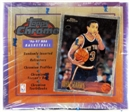 1996/97 Topps Chrome Basketball Hobby Box