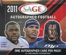 2011 Sage Autographed Football Hobby Box