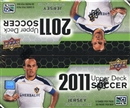 2011 Upper Deck Soccer 36-Pack Box
