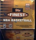 1997/98 Topps Finest Series 1 Basketball Jumbo Box