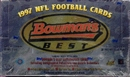 1997 Bowman's Best Football Hobby Box