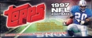 1997 Topps Football Factory Set (Box)