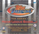 1998 Topps Finest Series 1 Baseball Hobby Box