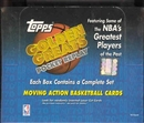 1998/99 Topps Golden Greats Pocket Replay Basketball Box
