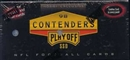 1998 Playoff Contenders Football Hobby Box