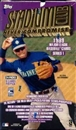 1999 Topps Stadium Club Series 1 Baseball Hobby Box