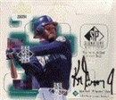 1999 Upper Deck SP Signature Edition Baseball Hobby Box