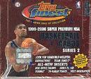 1999/00 Topps Finest Series 2 Basketball Hobby Box