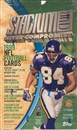 1999 Topps Stadium Club Football Jumbo Box