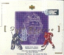 1999/00 Upper Deck Gold Reserve Series 2 Update Hockey Box