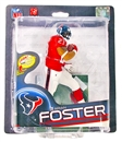 McFarlane Series 32 NFL Arian Foster (Red) Silver Level Variant Figure