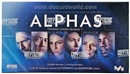 Image for   4x Alphas Season One Trading Cards Box (Cryptozoic 2013)