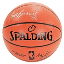 Bill Russell Autographed Official Indoor/Outdoor Spalding Basketball (JSA)