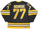 Ray Bourque Autographed Boston Bruins Hockey Jersey (Frozen Pond)