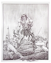 "Image for  Neal Adams Autographed Conan ""Next..."" Lithograph"