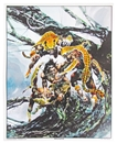 "Image for  Neal Adams Autographed Tarzan ""Whirlwind"" Lithograph"