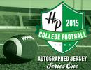 2015 Hit Parade Autographed College Football Jersey Hobby Box - Series 1