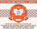 2015 Hit Parade Autographed Football Jersey Hobby Box - Series 5