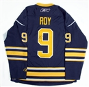 Image for  Derek Roy Autographed Buffalo Sabres Blue Hockey Jersey