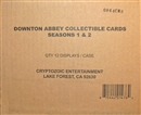 Downton Abbey Seasons 1 & 2 Trading Cards 12-Box Case (Cryptozoic 2013)